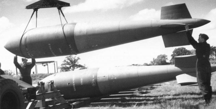 Сейсмические бомбы Великобритании и США