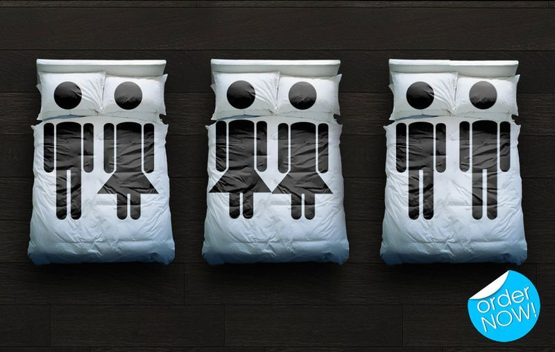 Интересный дизайн постельного белья: 30 идей
