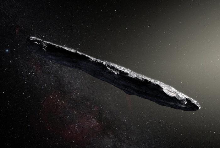 Межзвездный астероид Оумуаму начал раскрывать ученым свои тайны