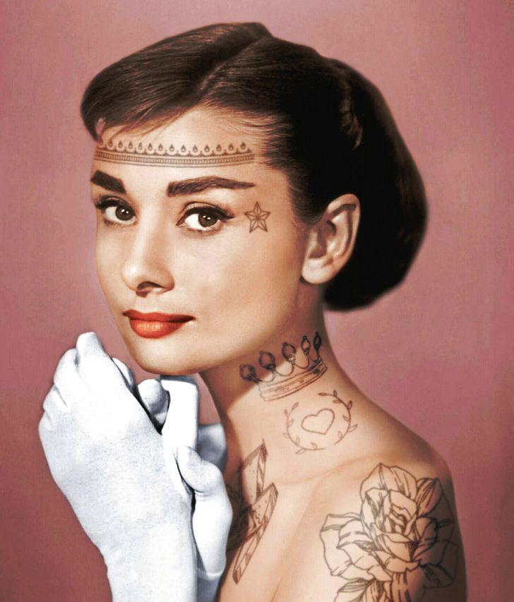 Очень противоречиво: как бы выглядели звезды в татуировках