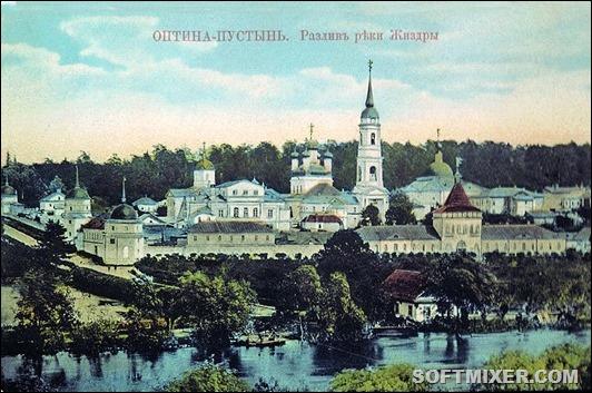 Optina_Pustynia_and_Zhizdra_River's_flood