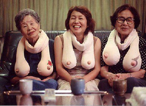 Шарфики для старушек