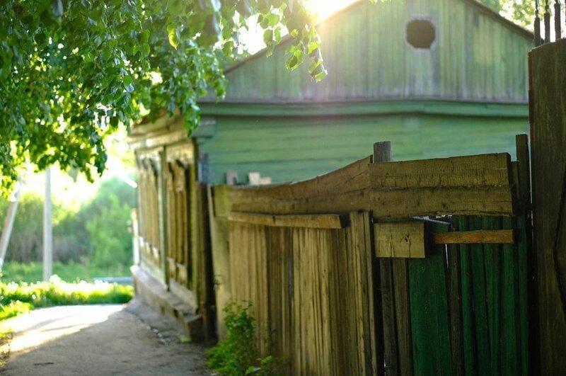 20. Обычная улочка, которая была в каждой деревне бабушка, глубинка, деревня, детство, русская деревня, фото