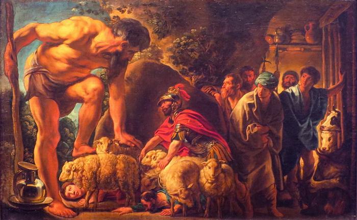 Полифем, персонаж поэмы о странствиях Одиссея, был сыроваром