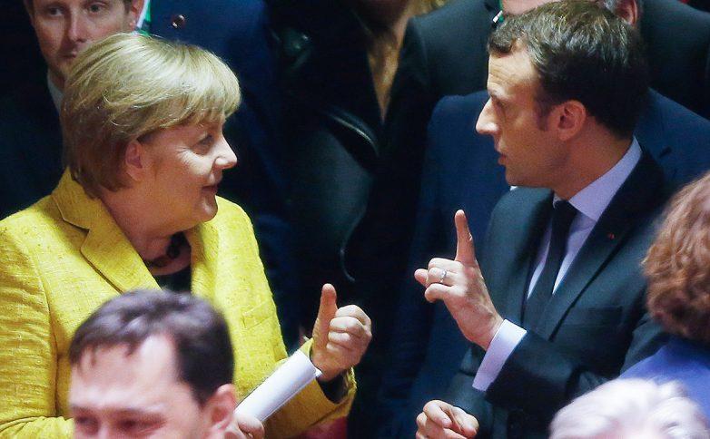 Меркель и Макрон высказались…