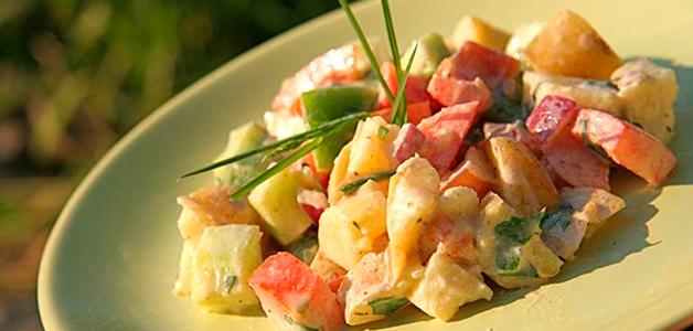 Картофельный салат рецепт