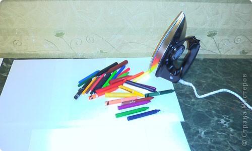 Картина, панно, рисунок, Мастер-класс Энкаустика: как я рисую утюгом Воск. Фото 2