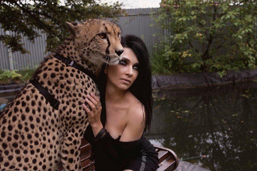 Дрессировщица гепардов Дарья Костюк: -Там, где появляется Дю Солей, цирки с животными закрываются-
