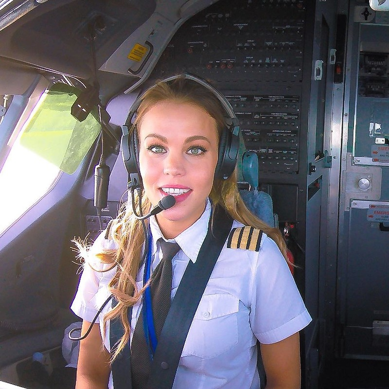 Как рсслабиться пилоту самолета после рейса?