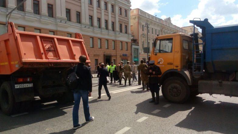 В Москве закрыли вход на Тве…