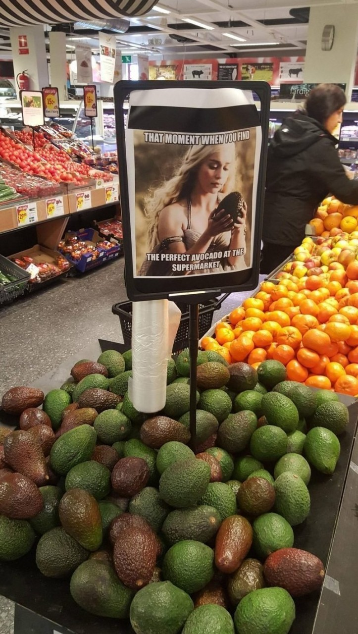 Это просто гениально! интересное, креативность, продукты, реклама, супермаркет, фото, юмор