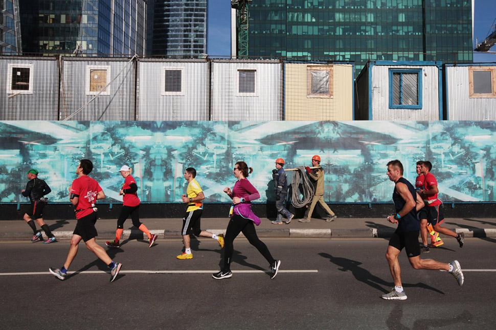 Москва бегущая: все персонажи Московского марафона