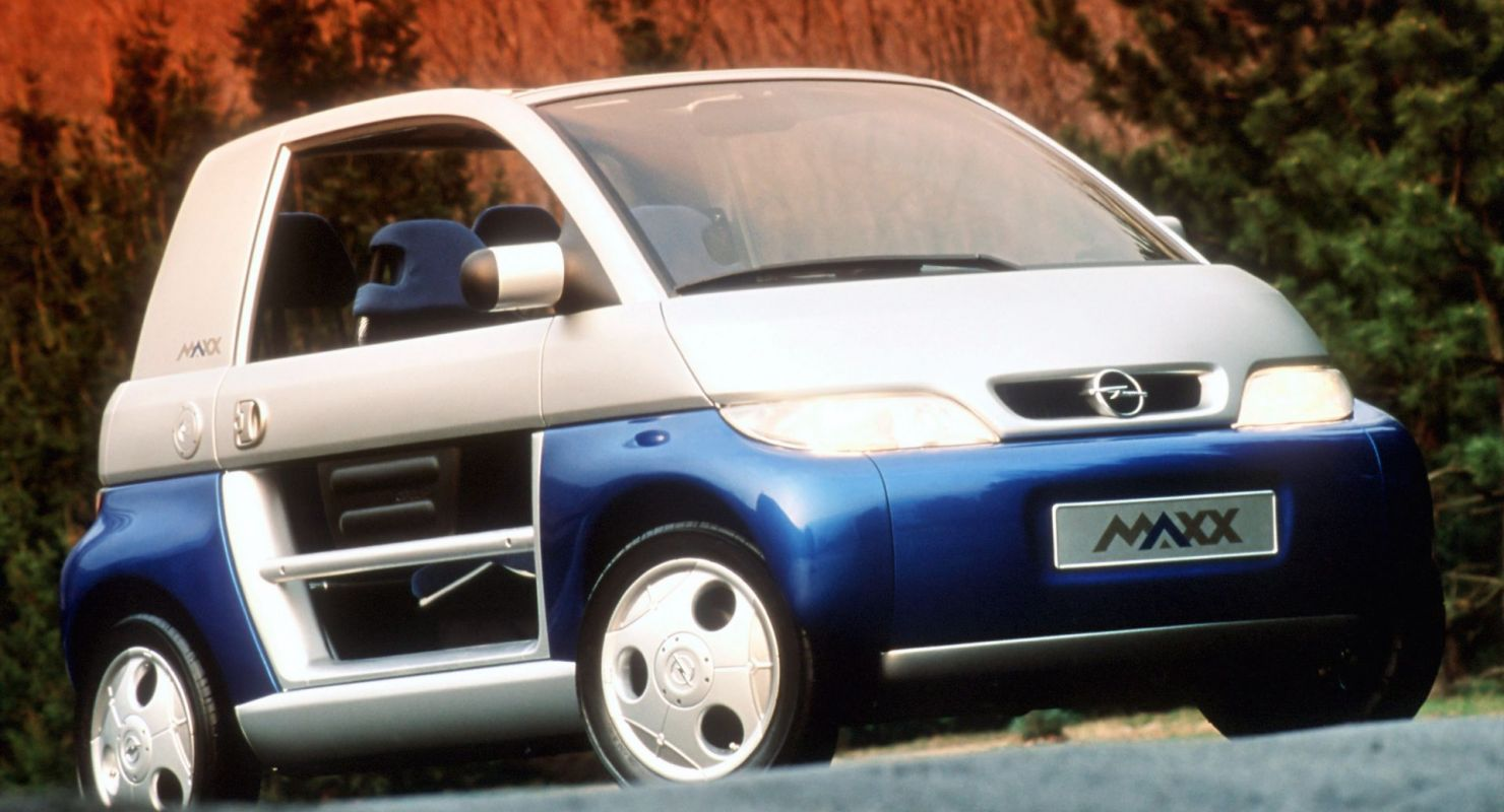Как Opel придумал первый Smart-автомобиль Автомобили