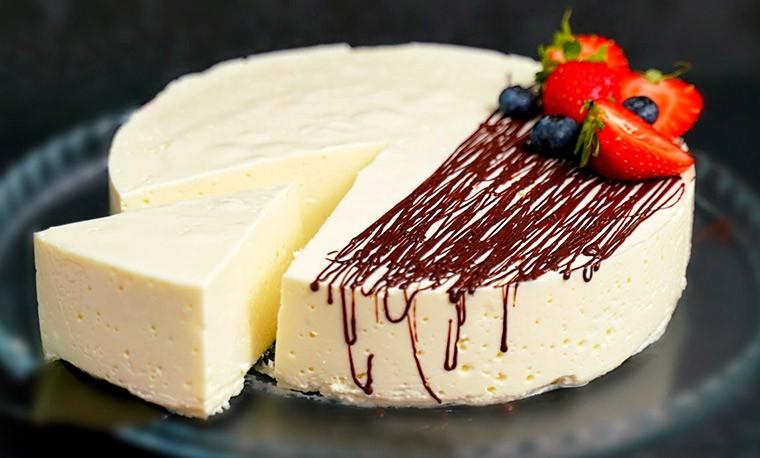 Творожный десерт для худеющих