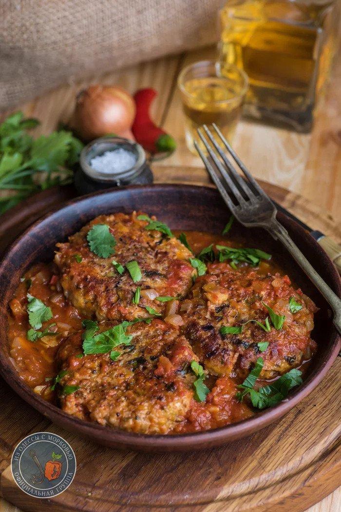 Рыбные котлеты в томатном соусе рыбные блюда