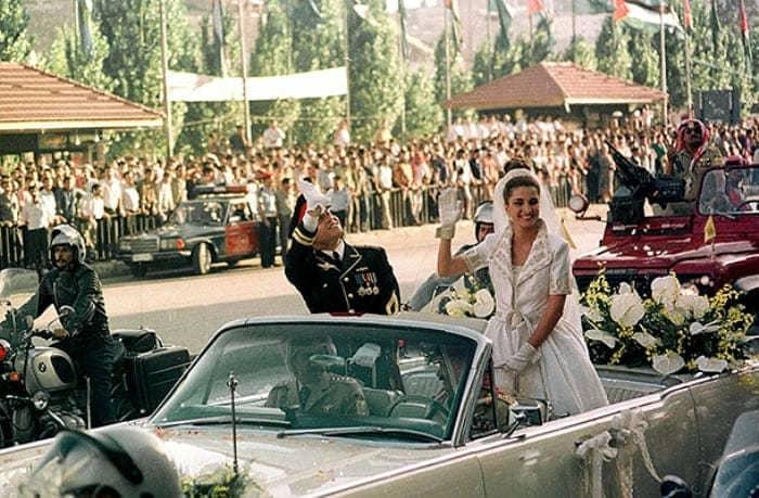 Свадьба Рании и Абдаллы | Фото: ru.hellomagazine.com