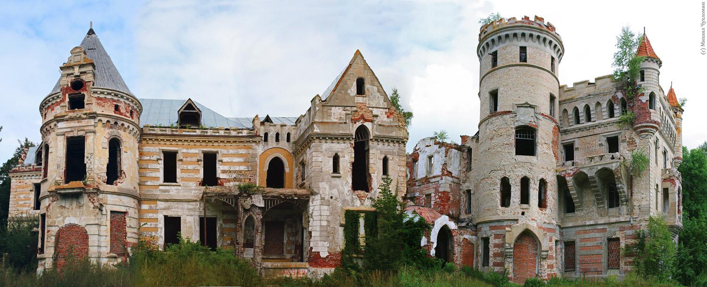Интересные здания в дальних уголках России