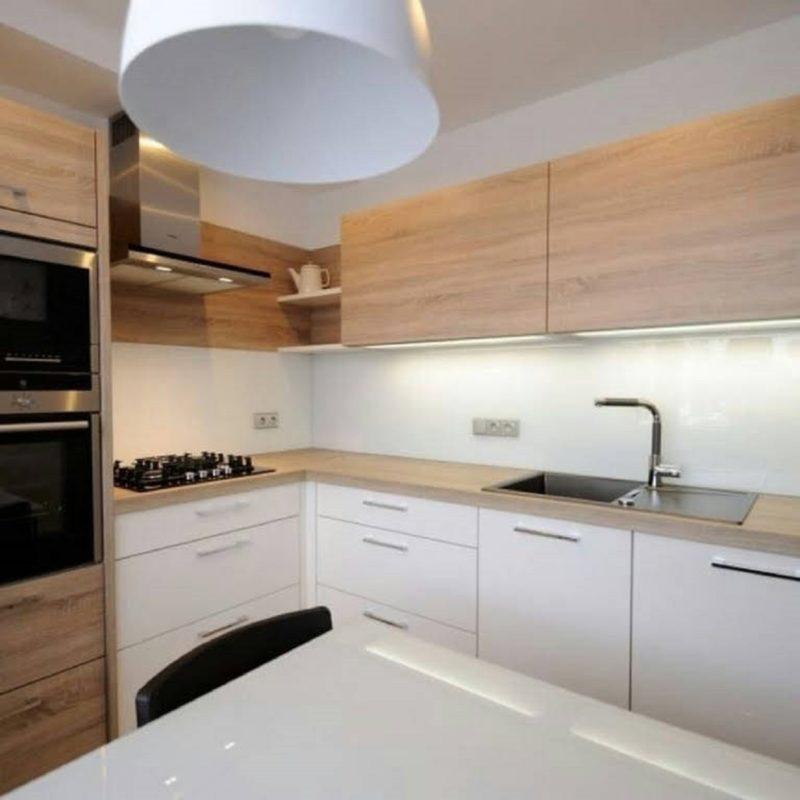 Удобная и стильная угловая кухня — 23 современных решения идеи для дома,интерьер и дизайн