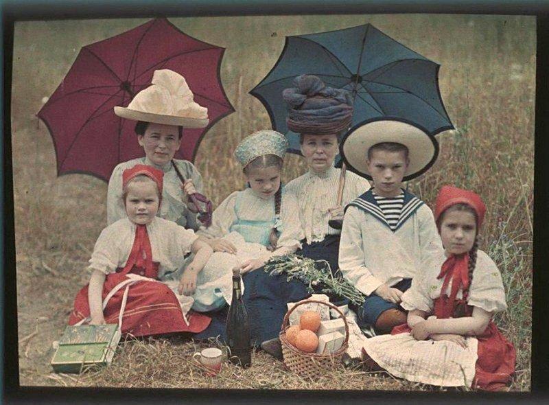 30 редких цветных фотографий, которые были сделаны в России более 100 лет назад