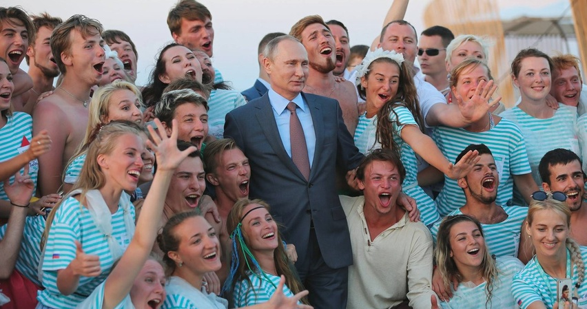 Молодые россияне любят Путина, госсобственность и социализм