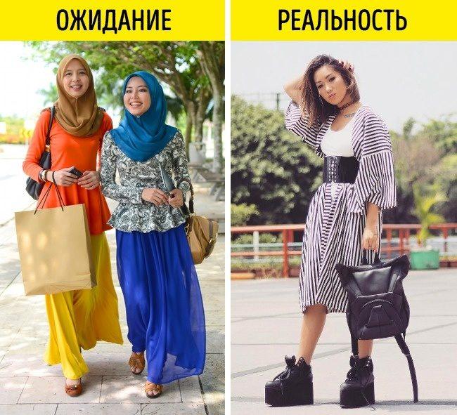 Как выглядят модницы в разных странах
