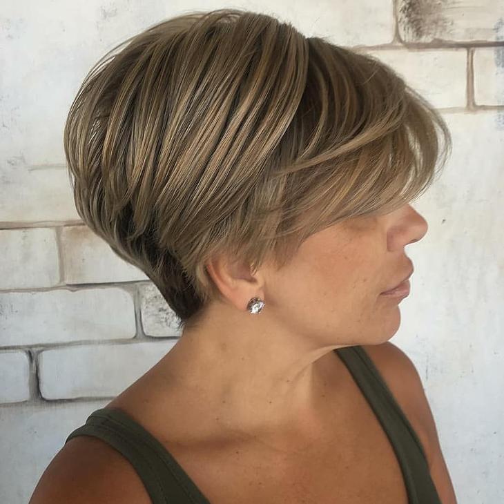 Стрижки после 40 лет на разную длину волос фото 1