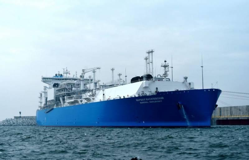 Литва все активнее закупает российский сжиженный газ