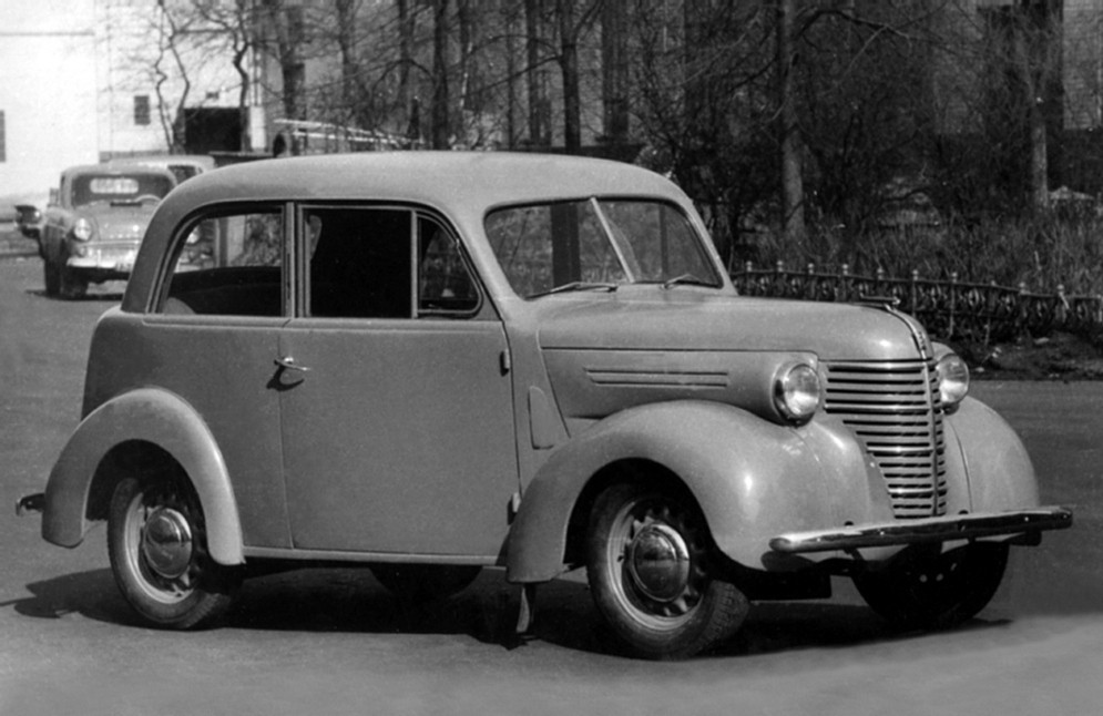 Советский автопром 40-х: сра…
