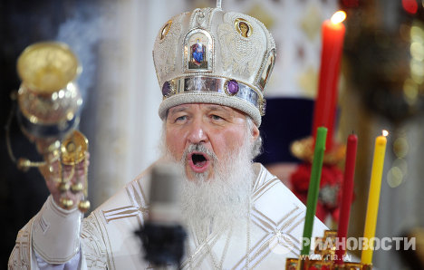 На всё воля божья: Патриарх Кирилл связал победу в Великой Отечественной войне с молитвами Георгия Победоносца