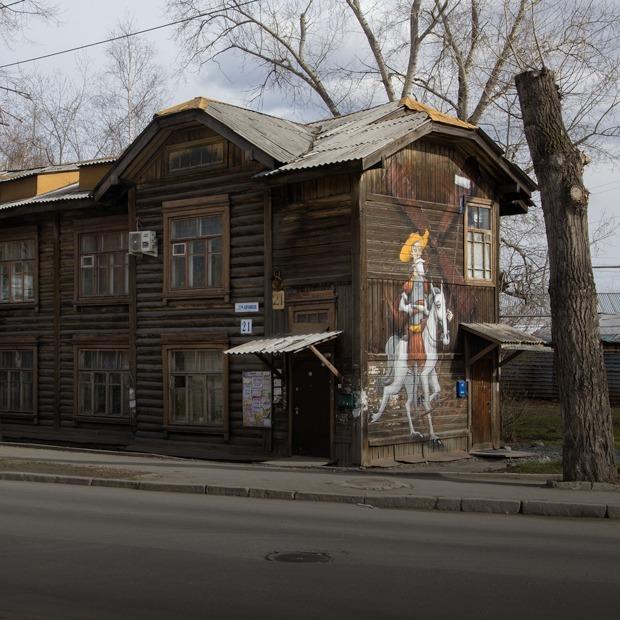 Я живу в деревянном доме-гнезде с Дон Кихотом