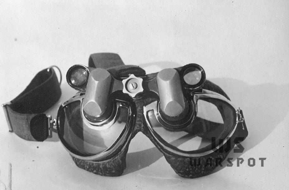 Очки-бинокль, которые испытывались осенью 1940 года - Летающие глаза артиллерии | Warspot.ru