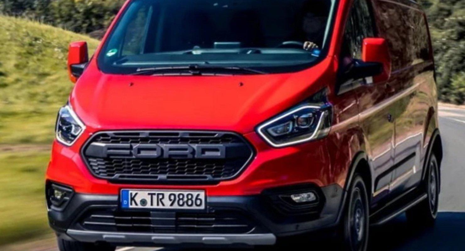 Электрический фургон Ford Transit Custom появится в продаже в 2023 году Автомобили