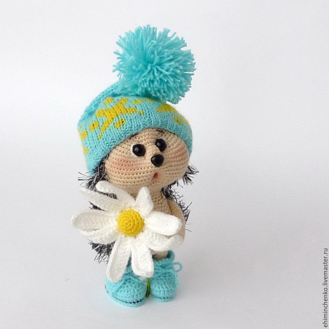 Прелестные вязаные игрушки от Елены Химинченко вязание,игрушки,творчество