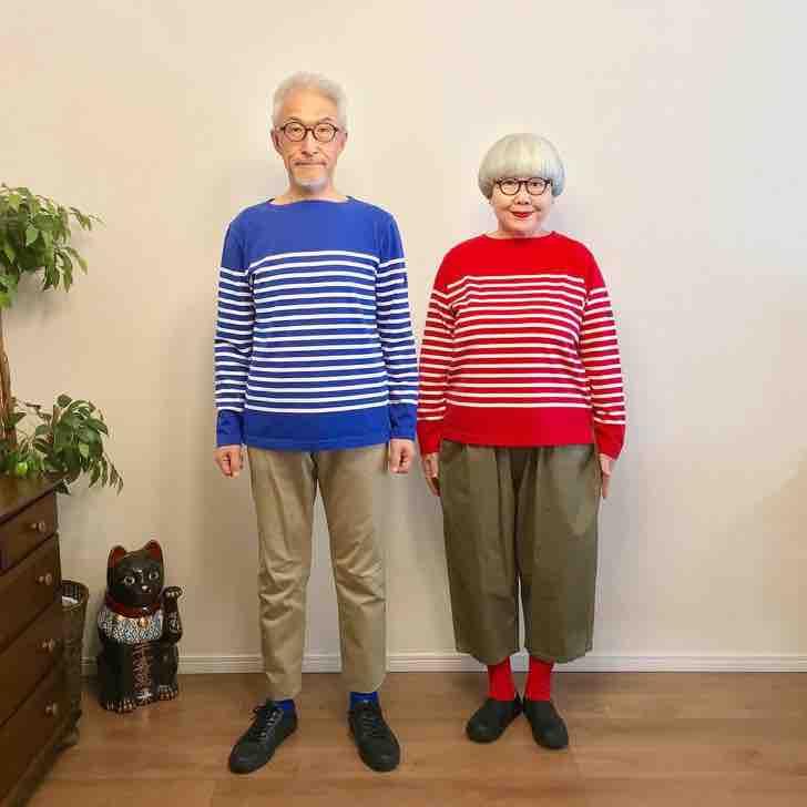 Бон и Пон: 38 лет женаты и каждый день комбинируют свою одежду на радость поклонникам их стиля. Фото