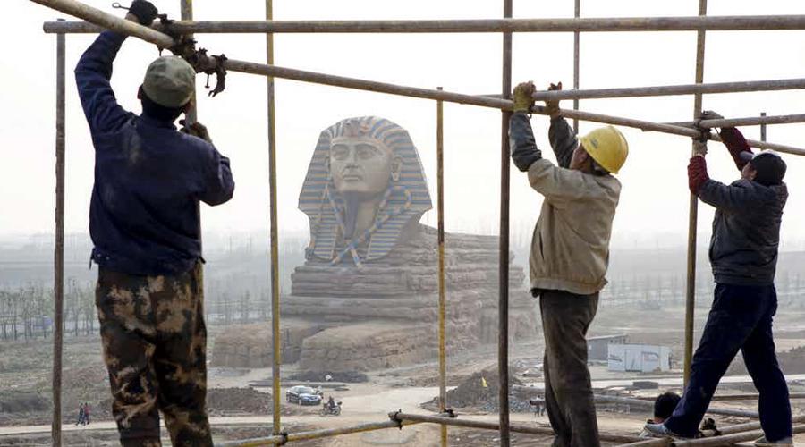 Тайны Сфинкса, которые уже сотни лет не дают покоя археологам Египет,загадка,инопланетяне,монумент,памятник,Пространство,сфинкс,фараон