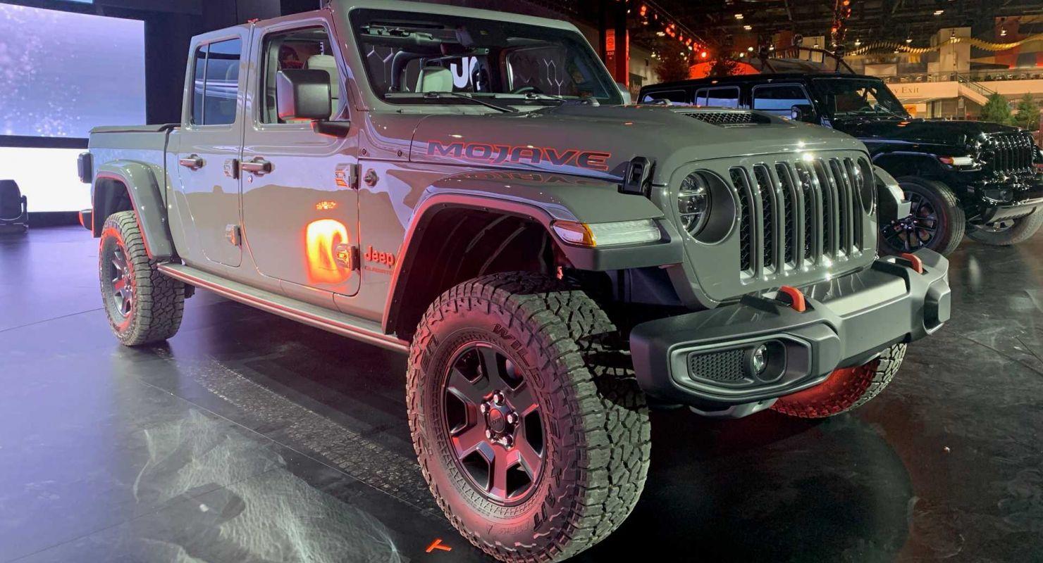 Jeep может представить гибридный Gladiator 4xe Автомобили
