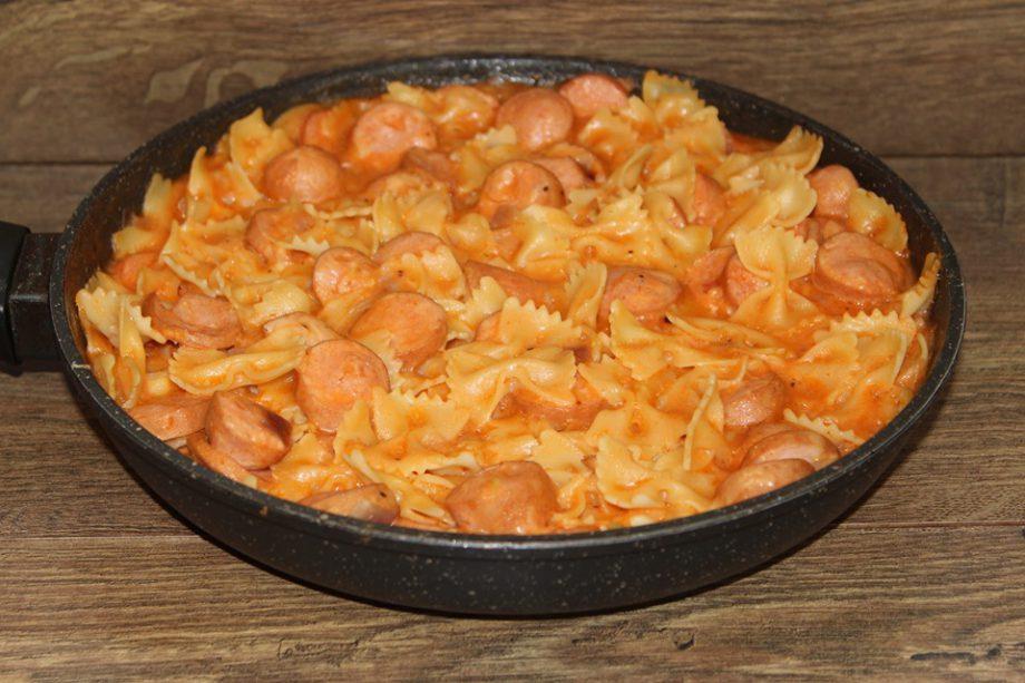 Хоть каждый день готовь. Быстрое, вкусное и доступное блюдо с макаронами