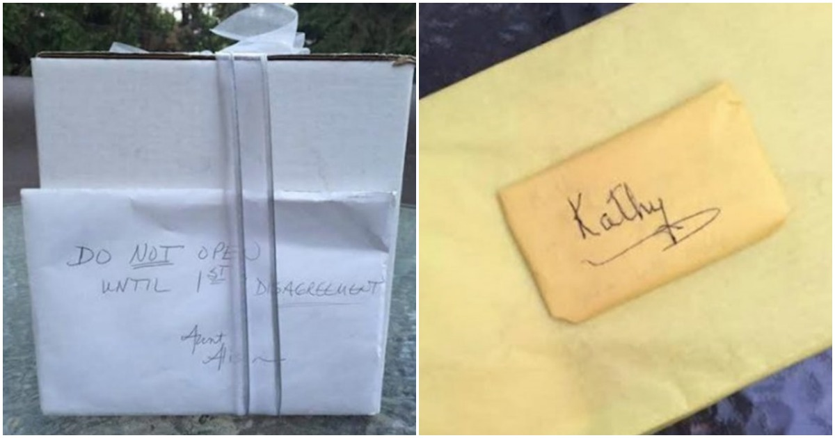 Спустя 9 лет после свадьбы пара нашла не распакованный подарок. Он оказался лучшим!