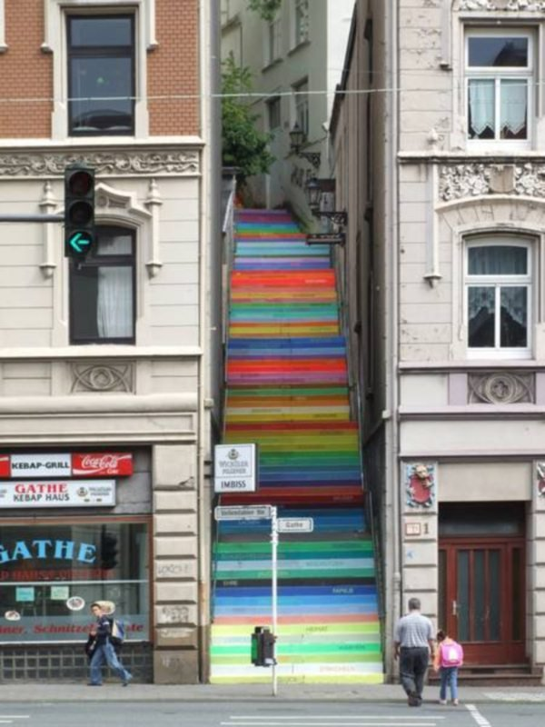 Уличное искусство в своём лучшем проявлении ( стрит-арт