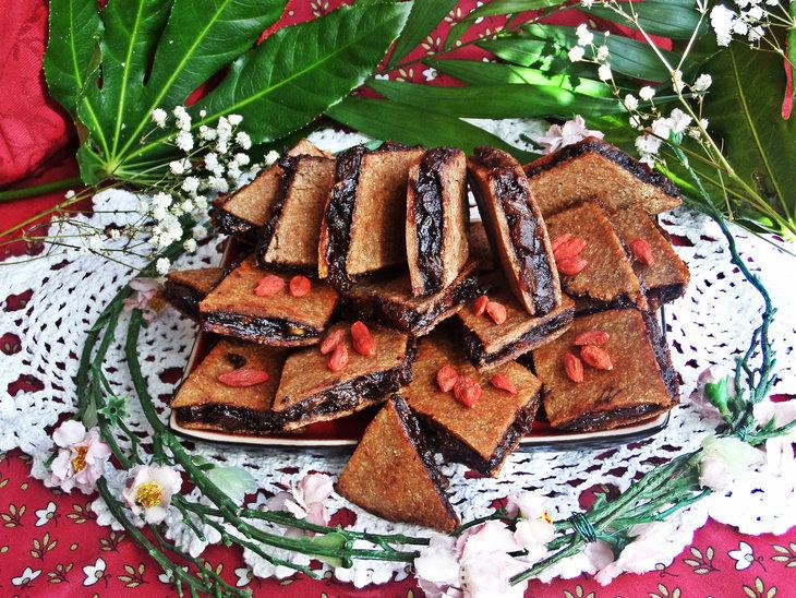 Изумительное постное ржаное печенье