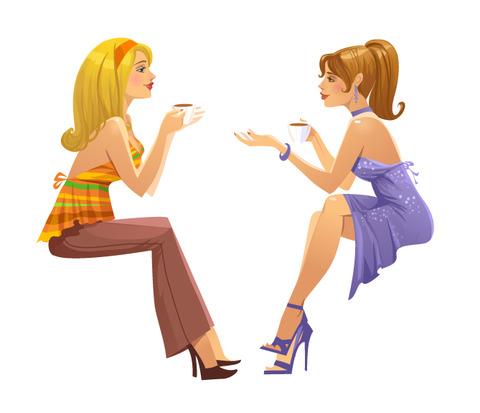 Пусть говорят что дружбы женской не бывает