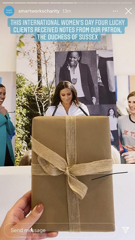 Меган Маркл оригинально поздравила подопечных фонда Smart Works с важным этапом в их жизни Монархи,Британские монархи