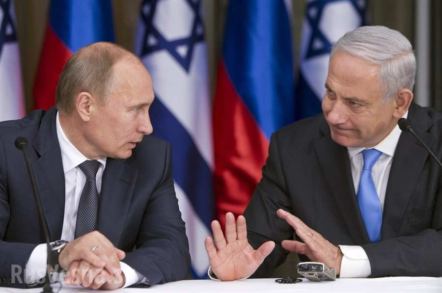 Премьер Израиля обсудил с Путиным право защиты территории со стороны Сирии