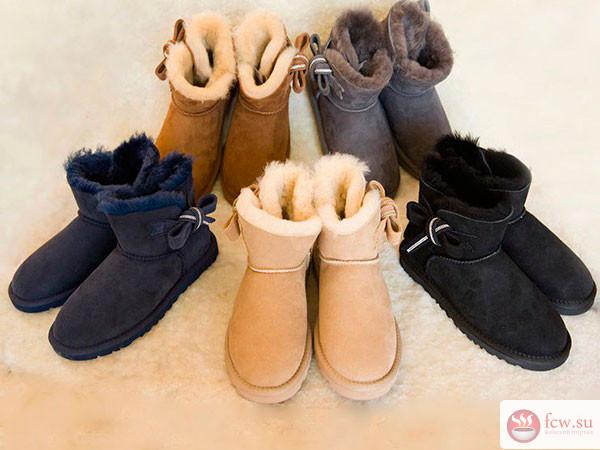 Модные угги наступившей зимы…