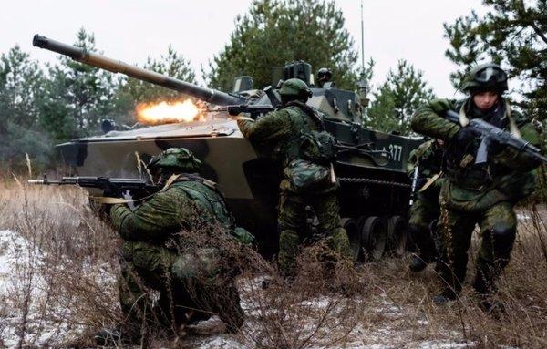 Внезапные учения армии РФ сорвали наступление Украины на Донбасс