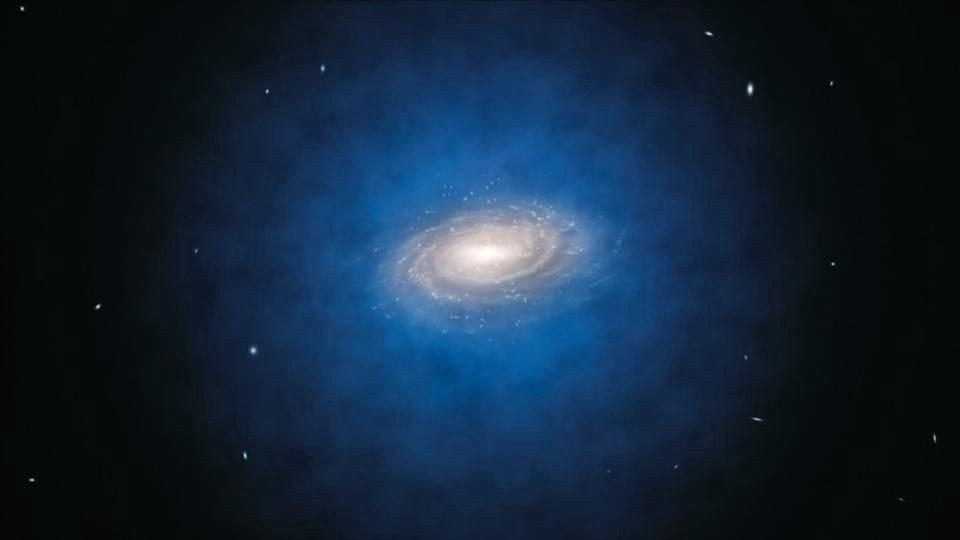 А что, если темная материя –…