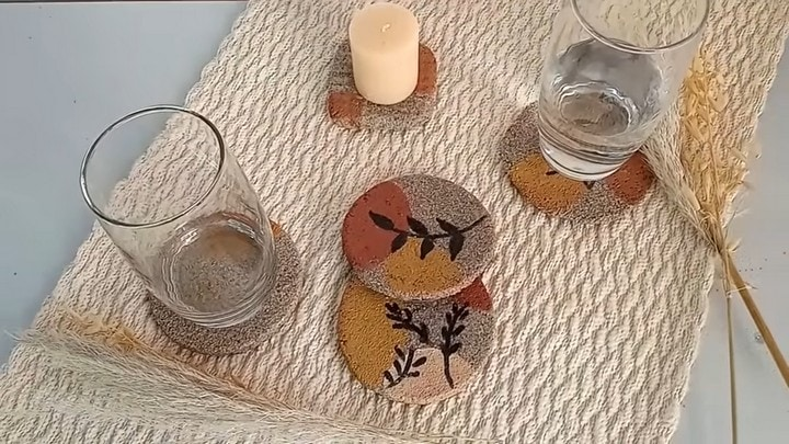 Соедините песок и ПВА что бы получить замечательные, полезные в быту изделия для дома и дачи,мастер-класс,поделки