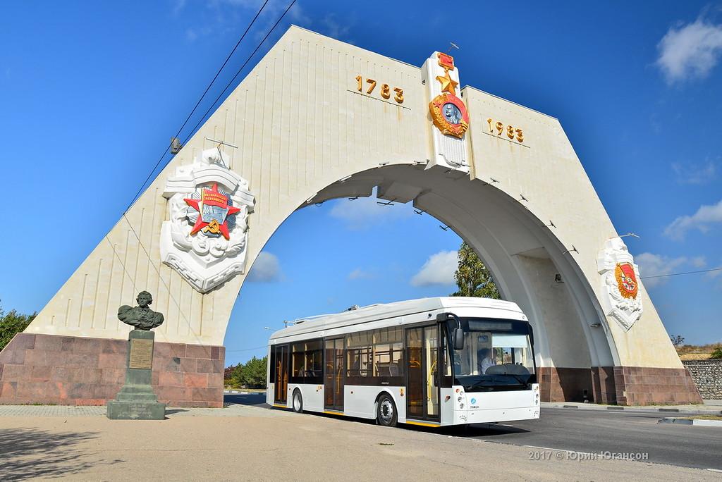 Троллейбус в городе: маршрут…