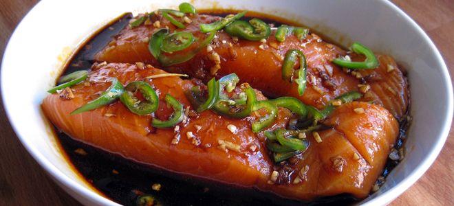 маринад для рыбы с соевым соусом