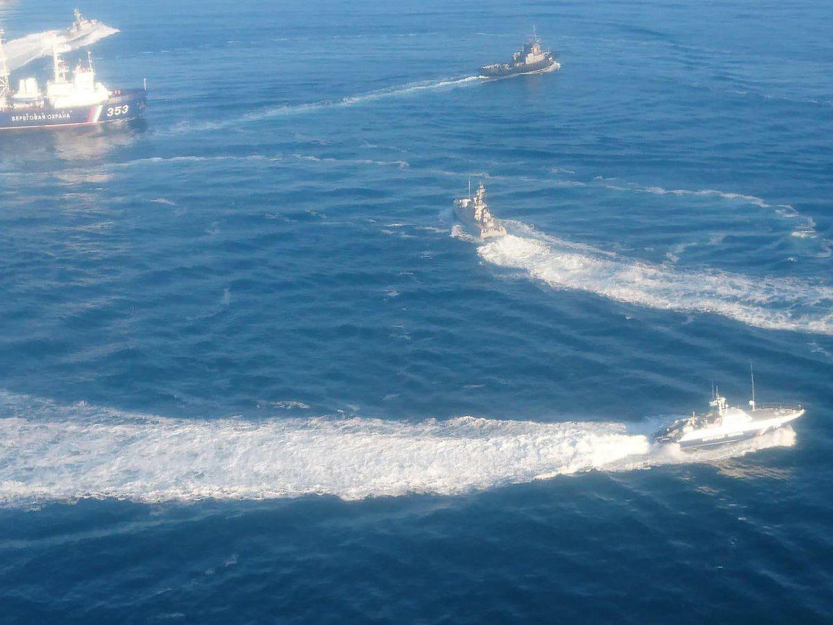 Корабли Украины, нарушившие …